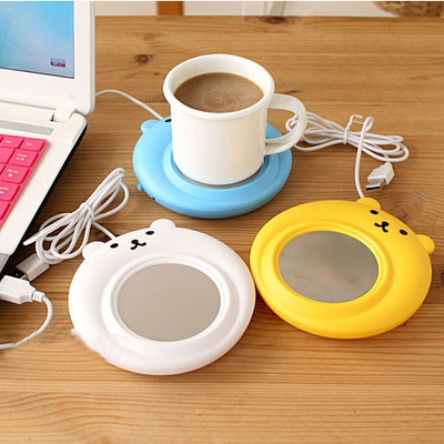 2016 new warm mini usb cute winter coffee cup Creative gadget usb warmer portable coaster computer office powered heater(China (Mainland))