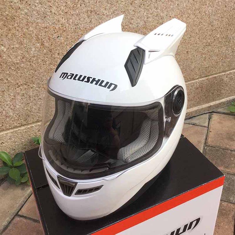 Free shipping Motorcycle Helmet MARUSHIN 999RZS DOT full face Helmet approved angled white