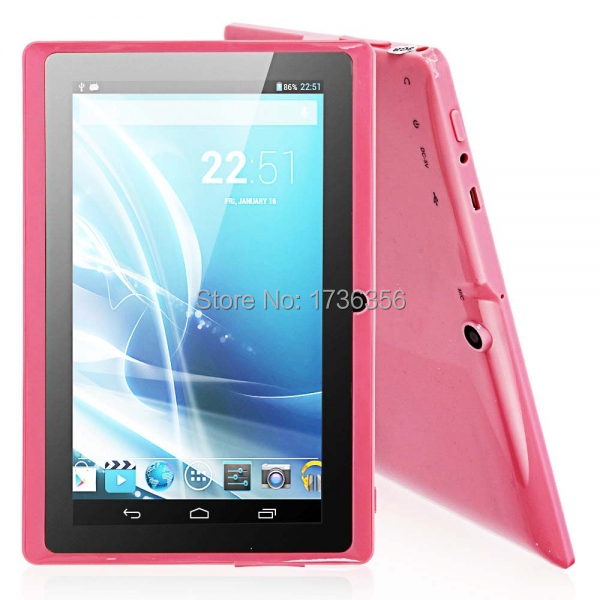 "7""Tablet PC Google Android 4.2 1.5GHz Quad Core 1GB+16GB Wi-Fi Bluetooth Tablet Camera IM Pink(China (Mainland))"
