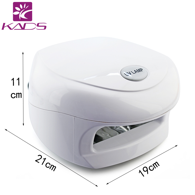 18W White UV Lamp 220-240V Gel Curing Nail Art (EU Plug) with 4pcs 365nm UV Bulb nail tools with CE and RoHs Nail Dryer<br><br>Aliexpress
