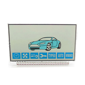 Russia version A91 Lcd display for Starline A91 lcd remote two way car alarm system free shipping