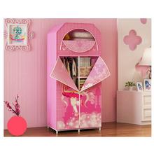 For children 7 non-woven wardrobe bedroom furniture color portable A-59(China (Mainland))