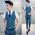 New Arrival Men Suit Dress Vests Men s Fitted Leisure Waistcoat Casual Business Jacket Tops Five