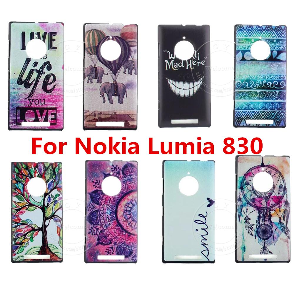 Free Shipping Colorful Cute Phone Case Cover For Nokia Lumia 830 Phone Cases Covers Capa Para Coque Capinha Funda for Nokia N830(China (Mainland))
