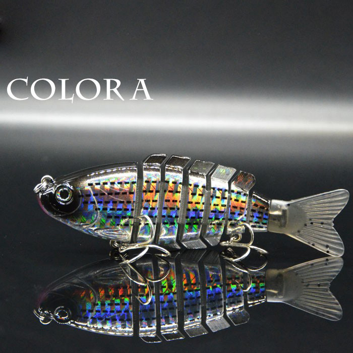 YICHAO FISHING 75.5cm Lifelike 3D Eyes Fishing Lure 7 Jointed Sections Hard Bait Artificial Lures Fishing Tackle<br><br>Aliexpress