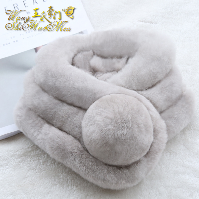 2016 winter fashion Faux Fur scarves for women ring scarf lady warm scarves cute style solid color scarves(China (Mainland))