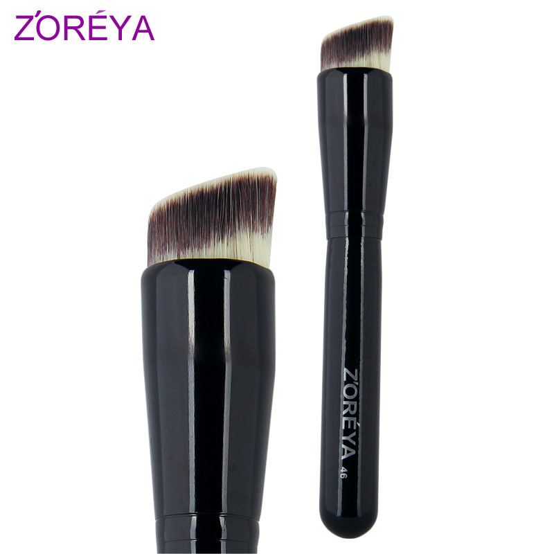 Zoreya foundation brush loose powder brush blush brush cosmetic brush make-up brush large contour brush Large portable<br><br>Aliexpress