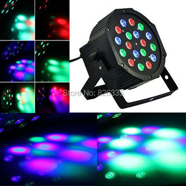110 - 220V 18W Party LED RGB DMX DJ Equipment Stage Light For Disco Nightclub(China (Mainland))