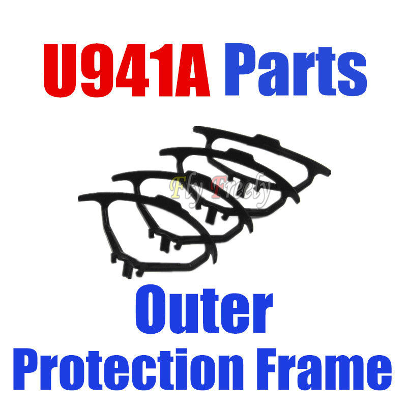 Udi rc Nano RX4 U941 Spare Parts Outer protection frame 4sets/lot For RC Helicopter Quadcopter Drone Accessories(China (Mainland))