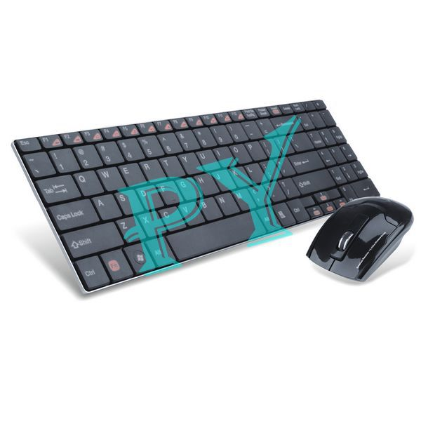 2.4Ghz High Quality Advanced HK3900 Wireless Optical Mouse And Keyboard Combo(Black)(China (Mainland))