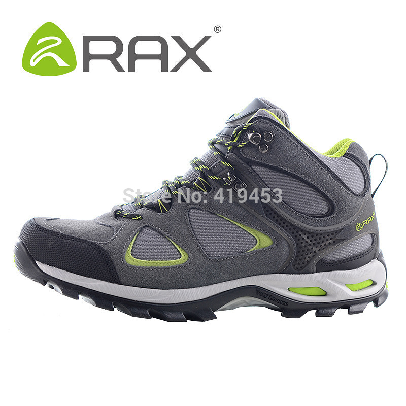 Top quality RAX winter waterproof hiking shoes men genuine leather shoes Tactical Antislip Rubber Sole Cushioning shoes A586<br><br>Aliexpress