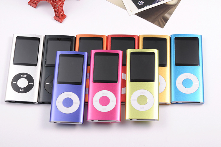 """16GB 1.8"""" 4TH FM MP3 Players Music Media Player 9 Colors MP 3 Player with Long Playing Time(China (Mainland))"""