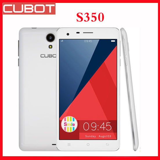 Original CUBOT S350 MTK6582 Quad Core 5.5 inch Screen Android 4.4 Smartphone 2GB RAM+16GB ROM Camera 8.0MP+13.0MP Free shipping