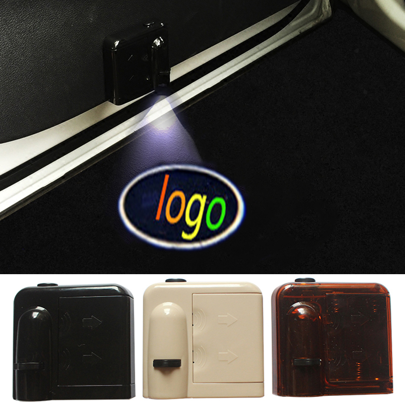 2 Pcs for Fiat Wireless Led Car Logo emblem Door Projector Laser Light LED Welcome Ghost Shadow No Drilling Car Styling(China (Mainland))