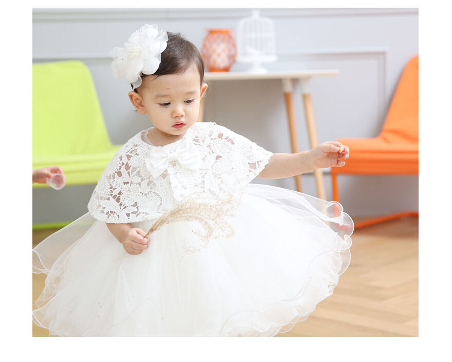 Latest set of one year old baby girl baptism dress for Making baptism dress from wedding gown