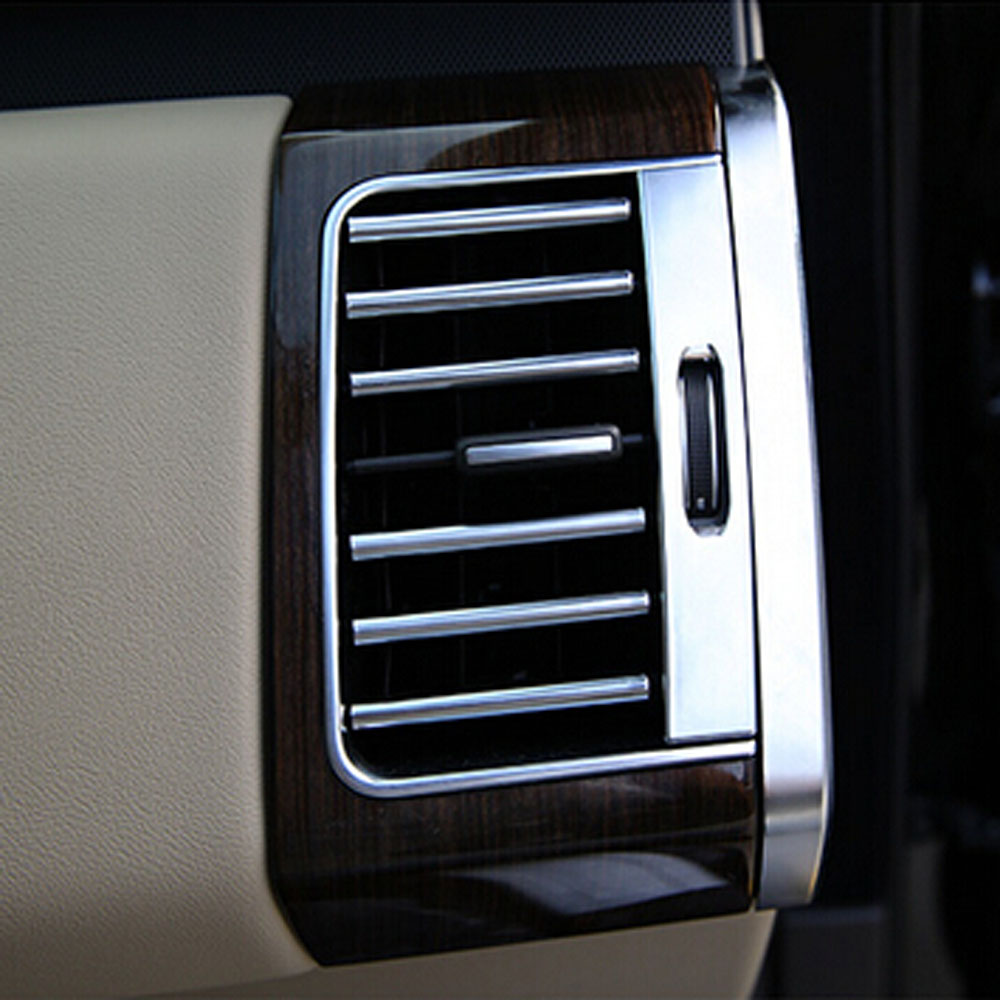 Front Dashboad Consel Air Conditioning Outlet Vents Covers