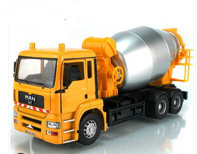 Cars child acoustooptical concrete cement mixer truck toy model alloy artificial engineering car(China (Mainland))