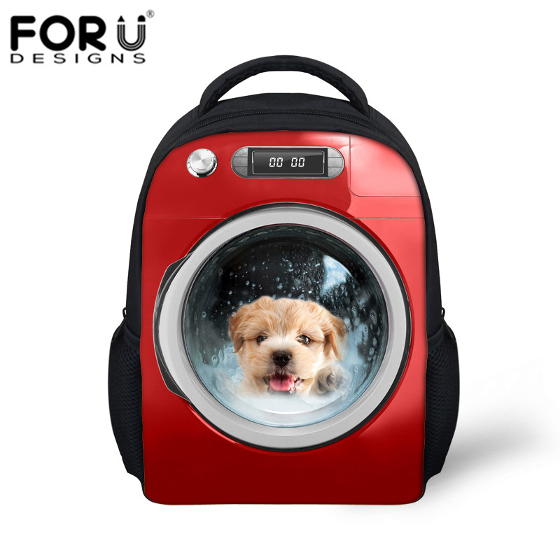 Pet Series Dogs Cats Printing Backpack for Kids Unisex Boys&Girls Children School Bag Special Gift for Kindergarten Bookbags(China (Mainland))