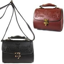 vintage font b women b font shoulder bag fashion embossed floral crossbody bag 2015 new lock