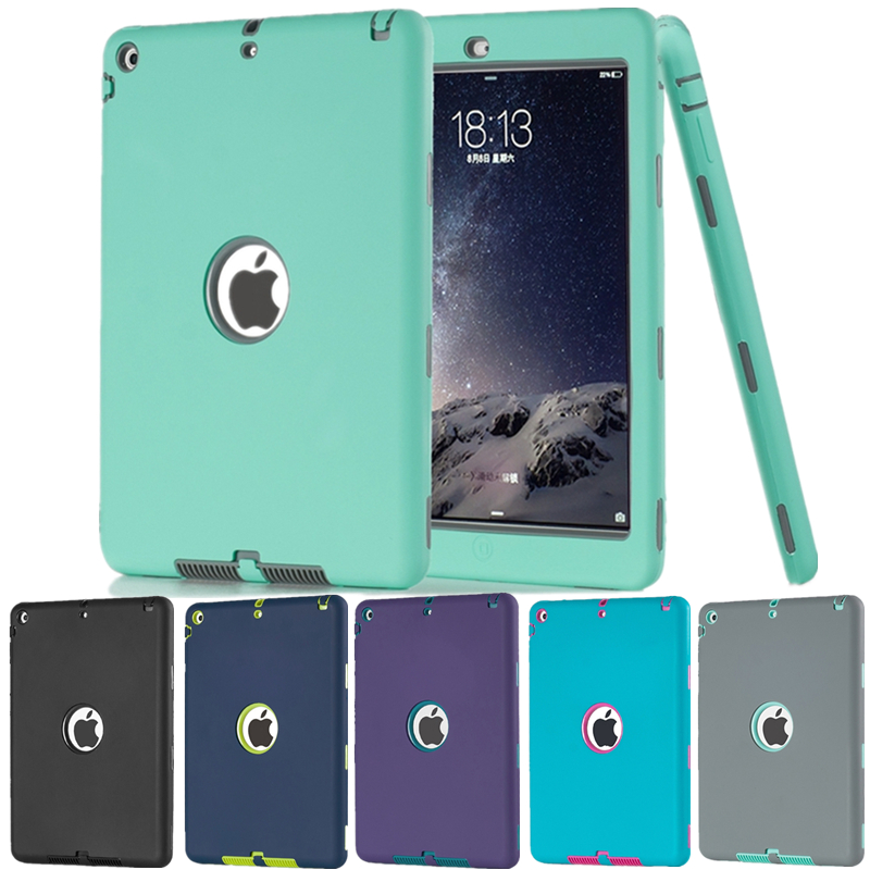"""Tablet Case For Apple iPad Mini 1 2 3 7.9"""" Armor Shockproof Heavy Duty Rubber Hard Case Cover Protector Shell(China (Mainland))"""