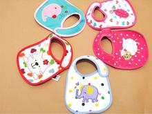 2015 New Cotton Baby Bib Infant Saliva Towels Baby Waterproof Bibs Newborn Wear Cartoon Accessories Free
