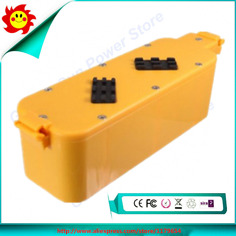 14.4V 3500mAh NI-MH For iRobot Roomba 400 replacement vacuum battery pack for iRobot 4232 4130 4150 4170 4188 4210(China (Mainland))
