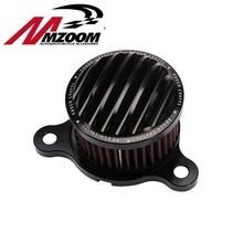 Motorcycle Air filter+Intake Filter System RC Case For Harley sportster XL883/1200 04'-UP For Rough Crafts Air Cleaner(China (Mainland))