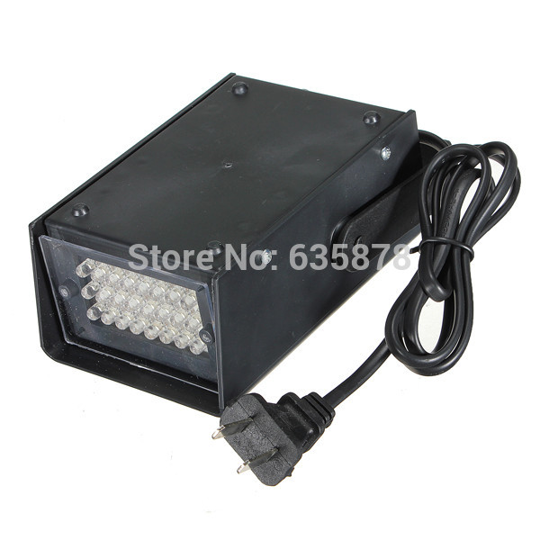 Mini 3W 24 LED Strobe Lights Operated DJ Disco Party Club Stage Lighting Effects(China (Mainland))