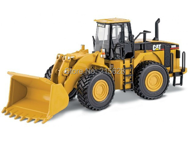 NORSCOT 1:50 Caterpillar CAT 980G Wheel Loader Scale DieCast Model 55027 FOREST MACHINE forklift Construction RADLADER Toy(China (Mainland))