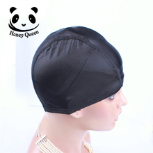 Spandex Dome Cap For Wig Cap Snood Nylon Strech Hairnets Wig Caps For Making Wigs Glueless Hair Net Wig Liner Free Shipping(China (Mainland))