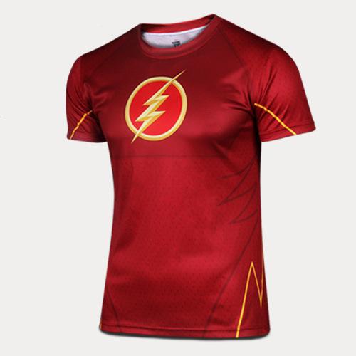 Super hero quick dry short sleeved T-shirt sweat shirt movement ventilation tights(China (Mainland))
