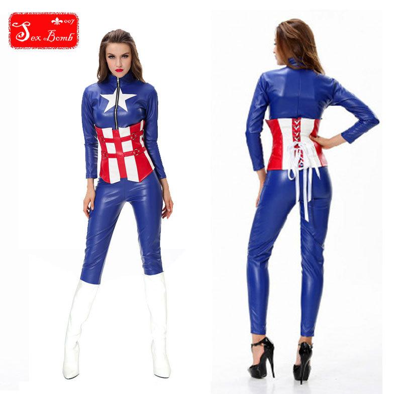 Model New Adult Skeleton Skull Halloween Costume For Women Catsuit S885 Female Singer Costume Dance ...