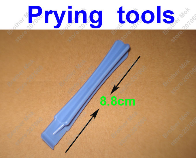 Plastic Pry Tool Cross Prying tools Crowbar Blue Opening Shell tools kit for iPhone 4 /4s / 5 Cell phone Repair 1000pcs/lot