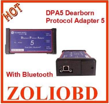2016 bluetooth DPA5 Heavy Duty Truck Scanner = dpa 5 multi-language+ good quality Auto diagnositc tool DPA-5 low price  -  ZL Obdtoolshop Co.,Ltd. store