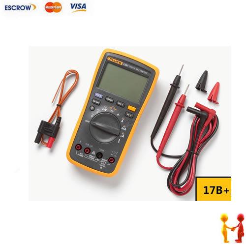 Original Fluke 17B+ F17B Digital Multimeter, with temperature probe can measure temperature(China (Mainland))
