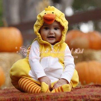 Free Shipping Christmas Coat,baby clothes,children garment,kids duck design wrap,infant outwear,baby child jackt,9 pcs/lot