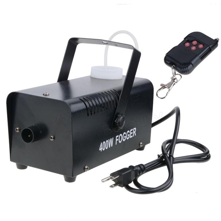 USA STOCK 400w Mini Wireless remote Fog Smoke Machine Dance bar party DJ stage Light 56