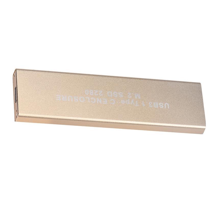 Del Gold 80MM USB-C USB 3.1 Type C To M.2 NGFF PCI-E 2 Lane SSD Enclosure For E431 E531 Mar10<br><br>Aliexpress