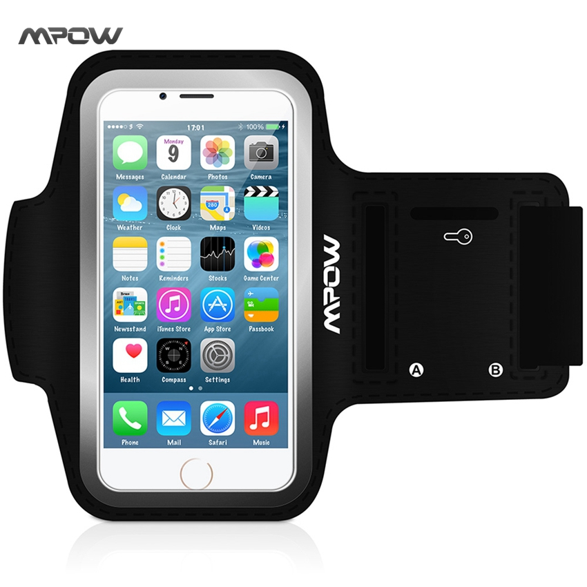 Mpow MSA2N Cover Sport Case Armband For iPhone 6 6S 4.7 inch Holder Waterproof Running Riding Funda Coque Arm Band for iphone 6(China (Mainland))