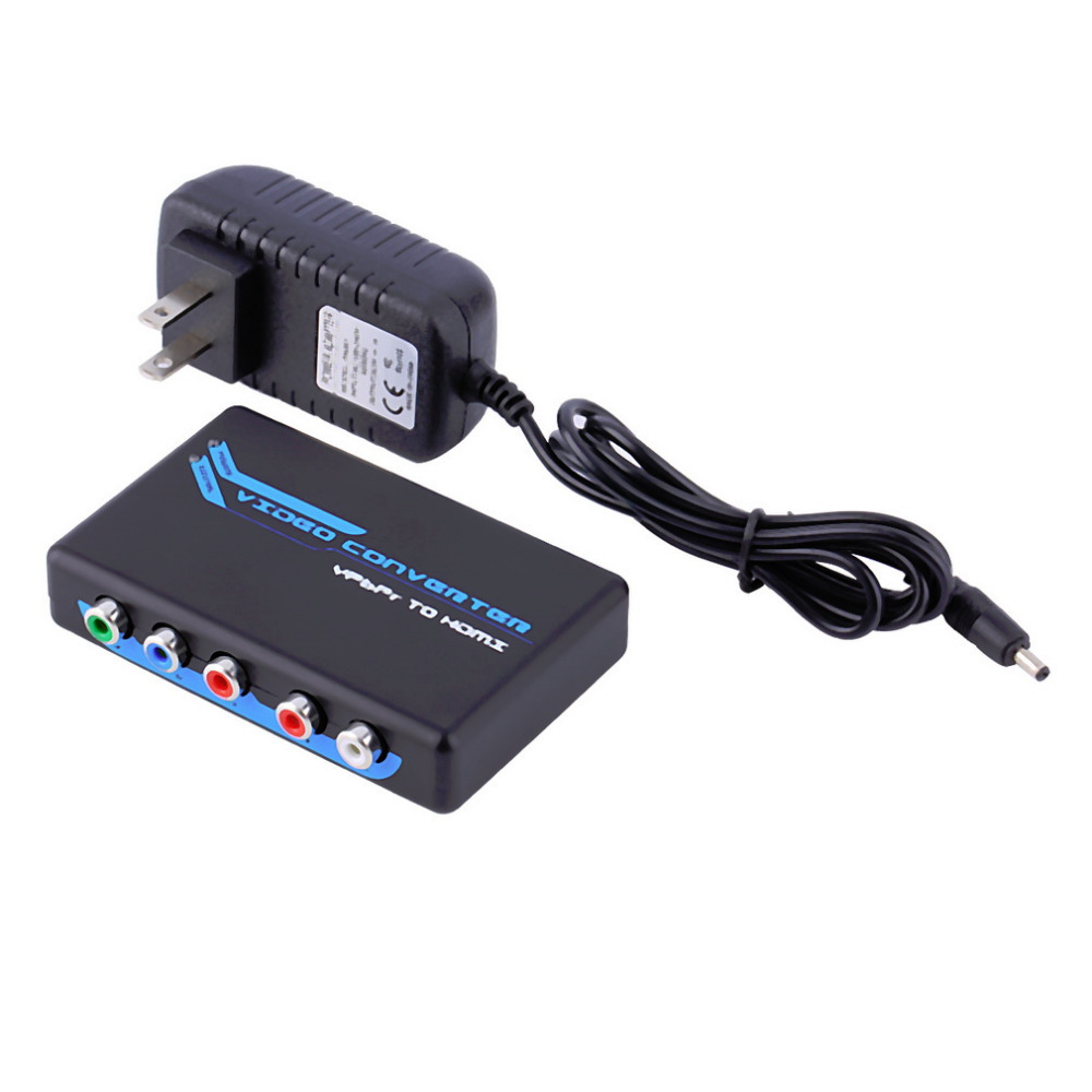 Component Video RGB Switch Stereo Audio to HDMI Converter Adapter 1080P Promotion(China (Mainland))