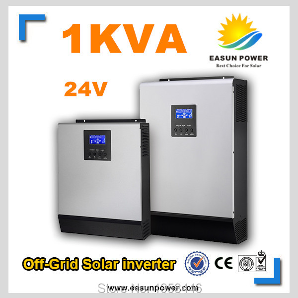 1kVA 800W 24VDC off Grid Solar Inverter with 600W MPPT Solar Controller 20A AC Charger(China (Mainland))