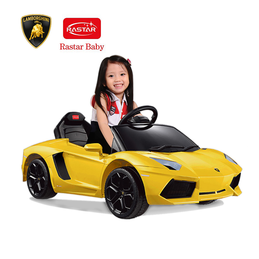 ride on cars for kids rastar kids 6v electric ride on toy car aventador lp700