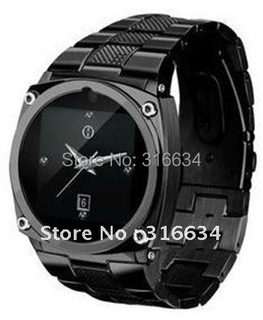 Free shipping by Sweden Post! Good quality Quad-bands stainless Wristed watch phone TW818;Silver,black&gold 3 colors