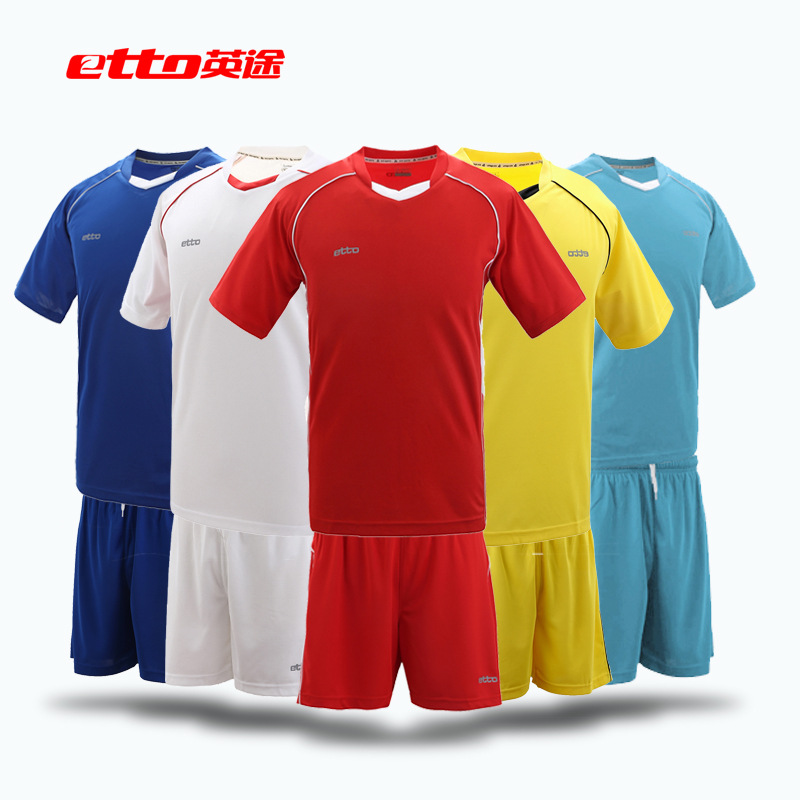2016 New High Quality Sports Clothes Short Sleeved Football Soccer Training Suit Uniforms Professional Soccer Jersey XK-HUC023<br><br>Aliexpress