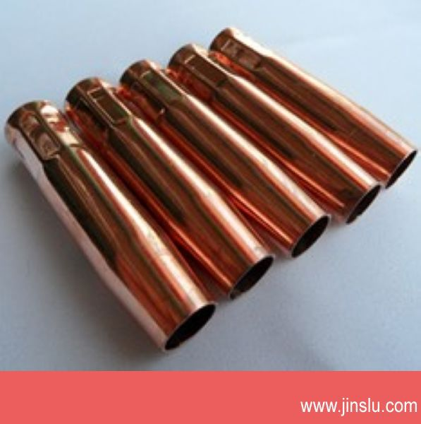 Free freight 10 pcs a lot MIG 200A CO2 welding torch consumables nozzle(China (Mainland))