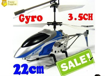Hot SALE !!! 8.6 Inch 3.5 CH Metal Gyro Mini RC Helicopter S105G R/C + USB Charger Cable + Tail Blade