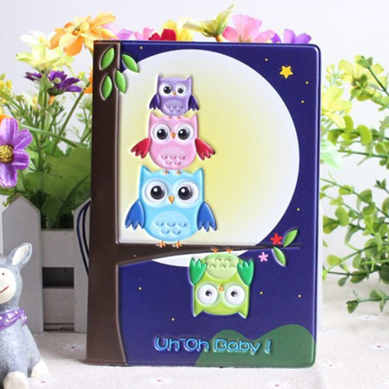 Hot Selling Cute Pumpkin Lamp and Owl Pattern Passport ID Card Credit Card Holder PVC Cartoon Passport Holder Free Shipping(China (Mainland))