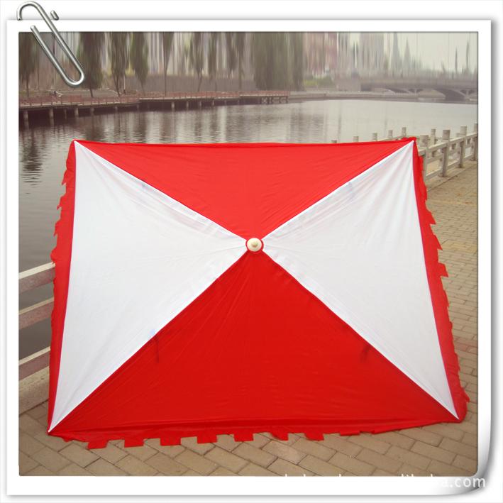 Oxford cloth advertising umbrella logo printing single color outdoor umbrellas large rectangular irons<br><br>Aliexpress