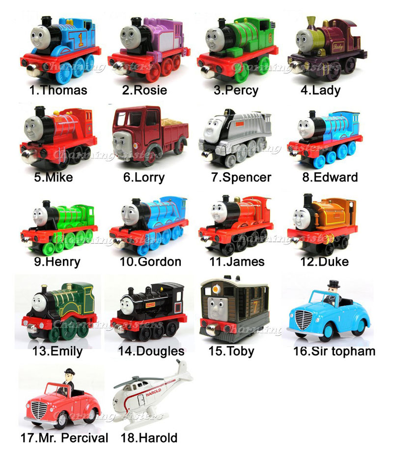 Free shipping 5pcs/lot diecast metal thomas and friends train the tank engine trackmaster toys for children kids choose yourself(China (Mainland))