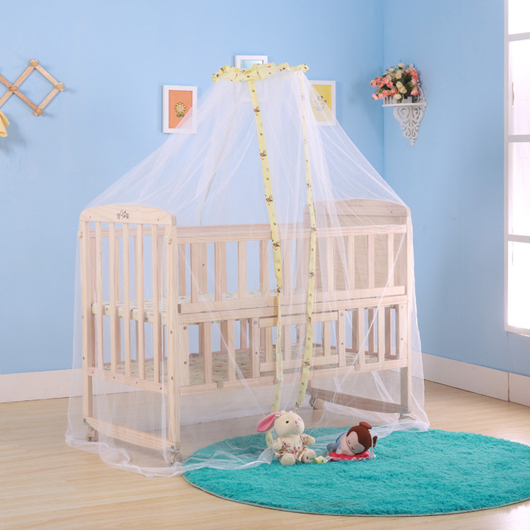 No title-1 & Wholesale Baby Mosquito Net Dome Palace Type Landing Baby Crib ...